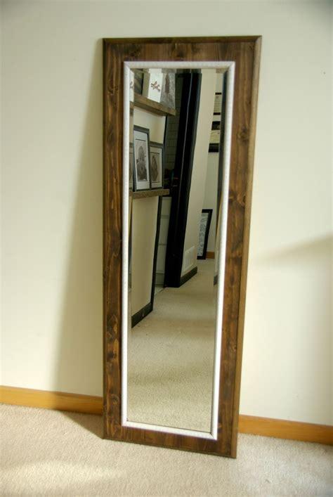 do it yourself framing a bathroom mirror diy floor mirror frame