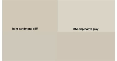 behr paint colors compared to sherwin williams restoration hardware compared to edgecomb gray