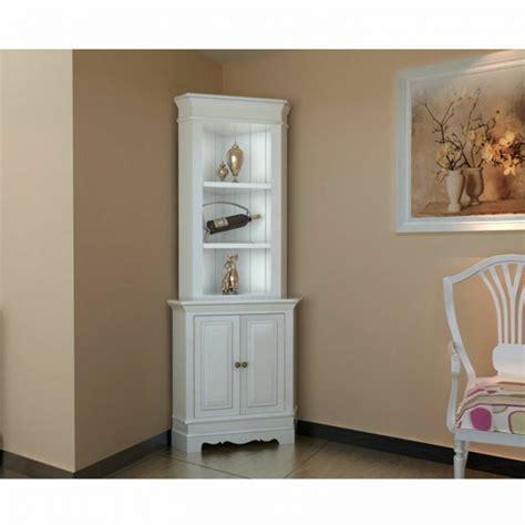corner units living room furniture corner display cabinet wooden shelf shab chic unit white