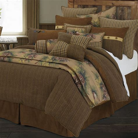 rustic comforters sets crestwood 4 5 pc rustic comforter bed set