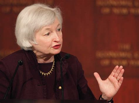 Federal Reserve Chair Janet Yellen why janet yellen should be the next chair of the federal