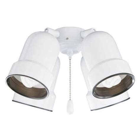 ceiling fan light kit home depot illumine zephyr 4 light appliance white ceiling fan light