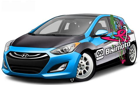 2013 Hyundai Elantra Gt Mpg by Hyundai S Veloster Spruced Up Big Time For Sema Cleanmpg