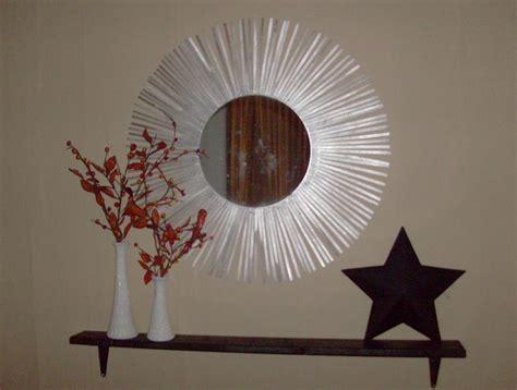 mirror craft projects make a silver starburst mirror 187 dollar store crafts