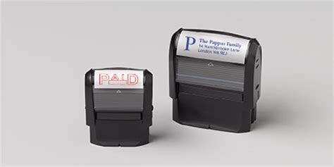 vistaprint free rubber st personalised sts self inking sts by vistaprint