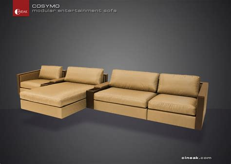 home theater sectional sofas media room and home theater sectional sofa by cineak