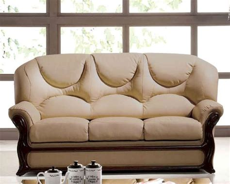 italia leather sofa italian leather sofa bed european design in beige finish