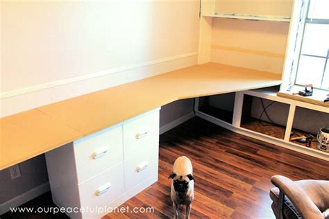 how to build an office desk how to build a simple large surface home office desk