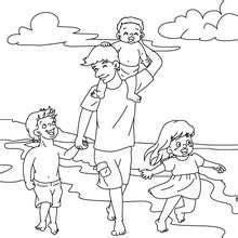 juegos de dora cocinando con su papa beach coloring pages free online games drawing for