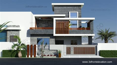 home design 3d 2016 3d front elevation 10 marla contemporary house design