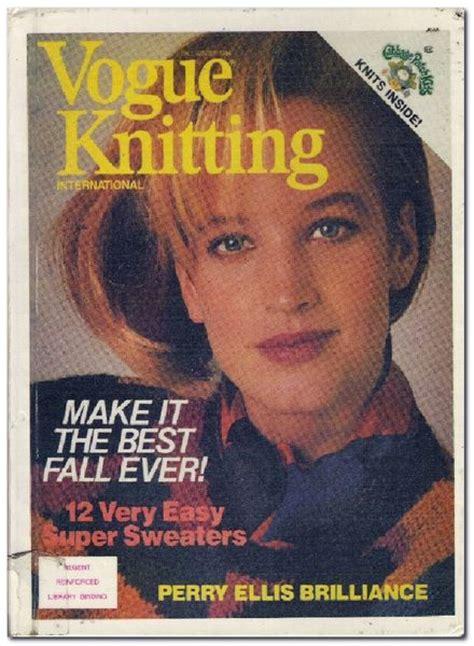 vogue knitting the ultimate knitting book pdf vogue knitting fall winter 1984 pdf magazine