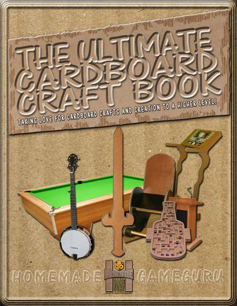 the ultimate craft book for the ultimate cardboard craft book by l a nuwame gofundme