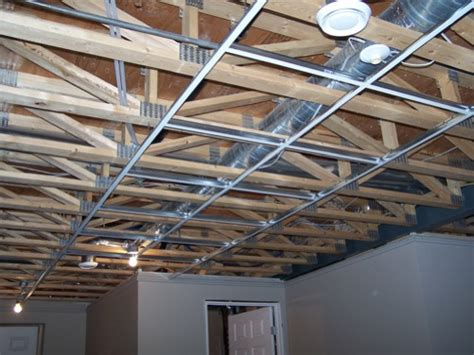Do Ceilings Have Studs by How To Install A Suspended Ceiling