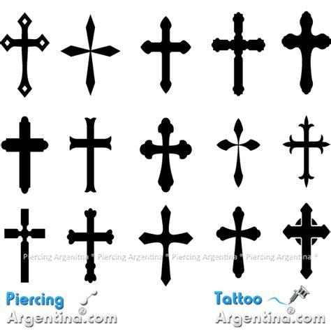 Diseños de Cruces Tattoo.
