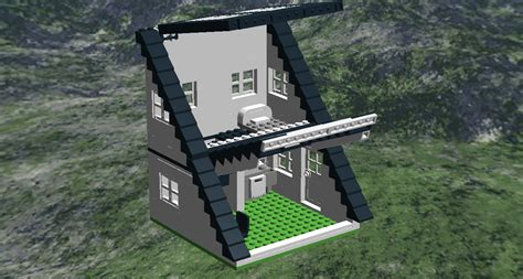 what is an a frame house one brick at a time half of an a frame house