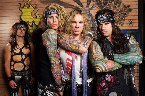 steel panther is working on their comedy series metal