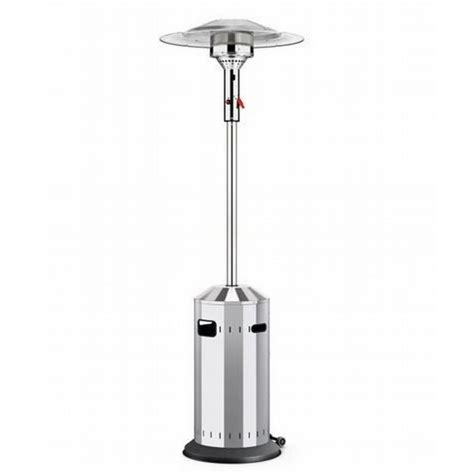 enders patio heater enders elegance 8kw stainless steel eco burner gas patio