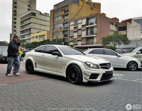 Black Series Mercedes by Mercedes C 63 Amg Coup 233 Black Series 31 January