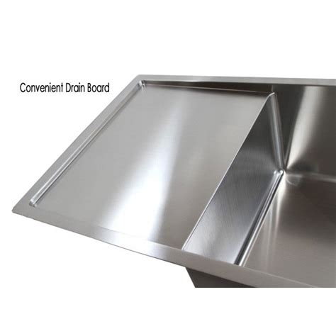 stainless steel undermount single bowl kitchen sink 36 inch stainless steel undermount single bowl kitchen