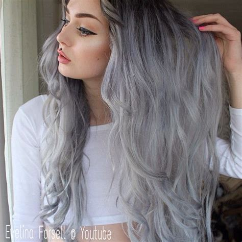 black grey hair silver grey gorgeous hairstyles