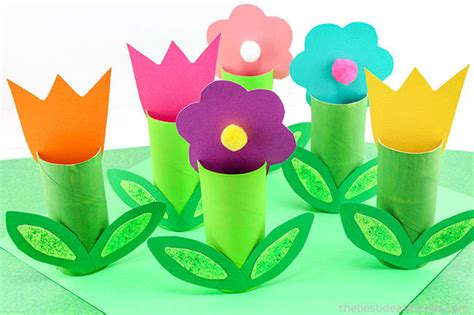 toilet paper roll flowers craft toilet paper roll flowers craft the best ideas for