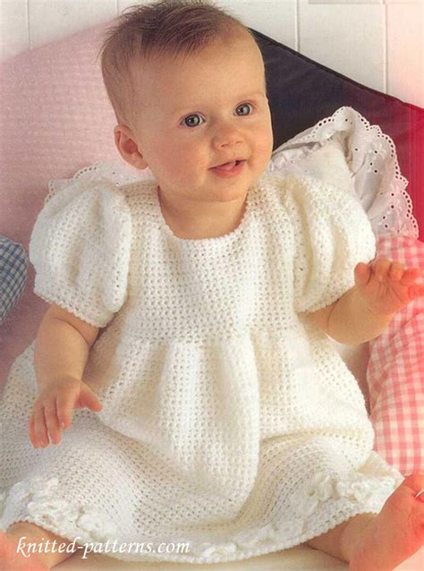 free knitted dress patterns for toddlers baby dress crochet pattern free