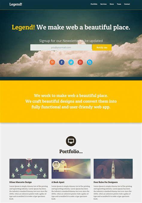 free site 20 free high quality psd website templates hongkiat