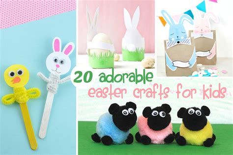 easter crafts for on 20 adorable easter crafts for