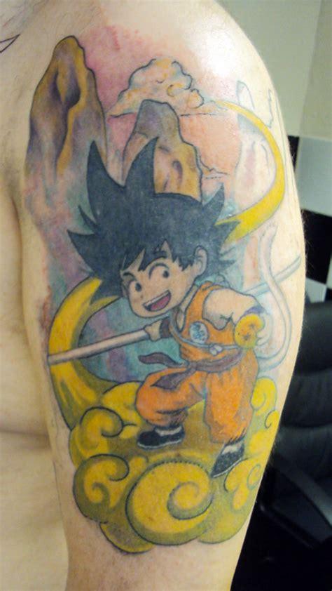 dragon ball tattoos goku the dao of dragon ball