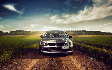 Car Wallpaper Front View by Mitsubishi Lancer Car Front View Wallpaper Cars