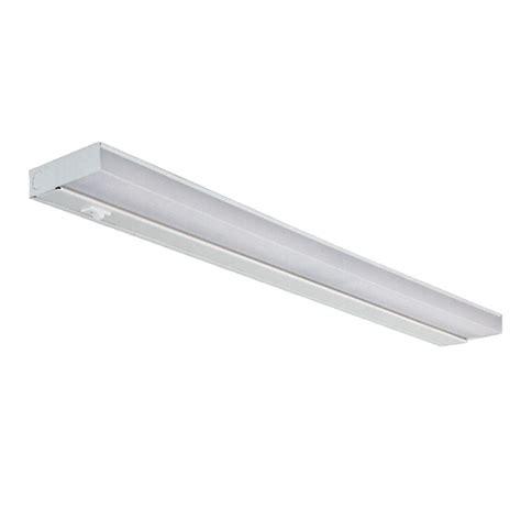 fluorescent kitchen light fixtures home depot 24 in white fluorescent cabinet light fixture