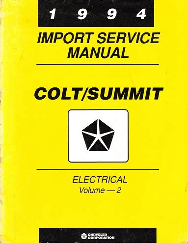 how to download repair manuals 1994 eagle summit navigation system service manual 1994 eagle summit service manual on a relays service manual ac repair diagram