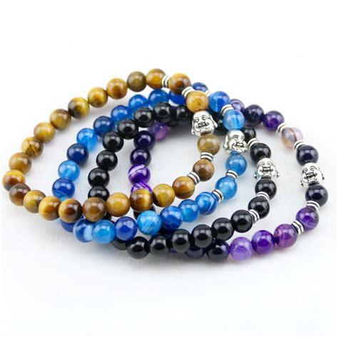 energy bead bracelets new s beaded energy lava bracelets antique