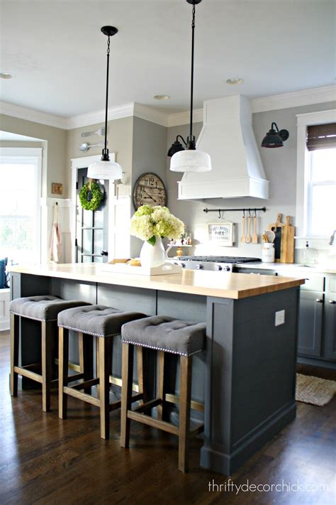 decorating kitchen island the kitchen renovation budget and how i saved from thrifty decor