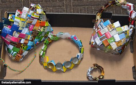 waste material craft projects waste material activity easy arts and crafts ideas