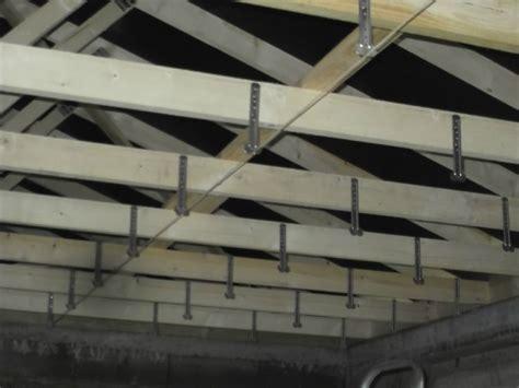 le plafond construction d une extension