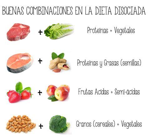 mezcla de alimentos para adelgazar la dieta disociada a examen dietas iv el granero integral