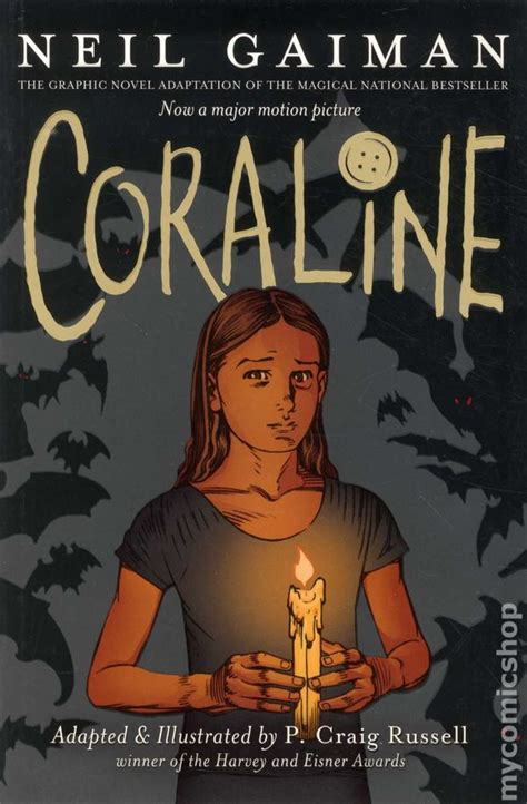neil gaiman picture books coraline gn 2008 neil gaiman comic books