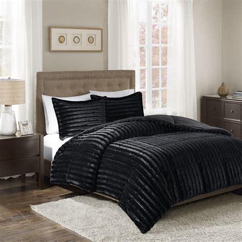 faux fur comforter set park duke faux fur comforter mini set