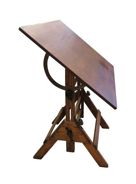 antique oak drafting table antique oak drafting table olde things