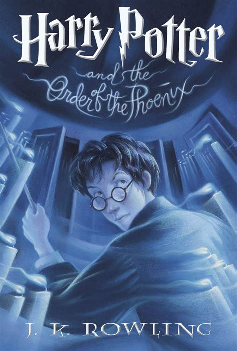 harry potter book picture book 5 harry potter and the order of the cover