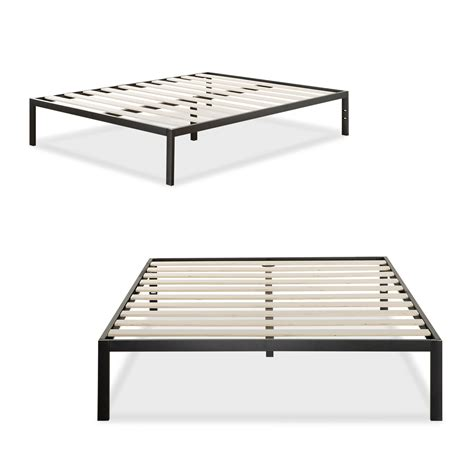 bed mattress frame platform 1500 metal bed frame mattress foundation zinus