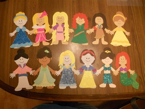 disney craft projects disney princess paper doll craft cricut ideas
