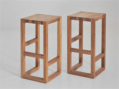 woodworking by design solid wood stool step by vitamin design for the island
