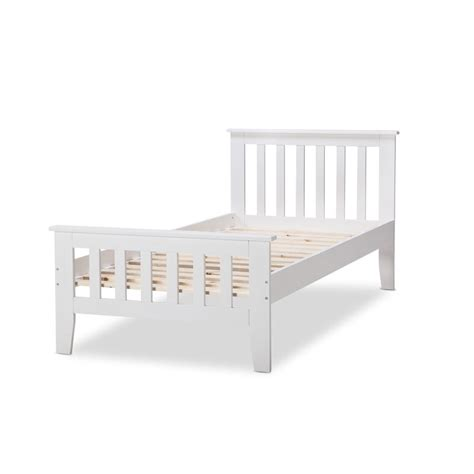style bed frames avana king single federation style bed frame white buy