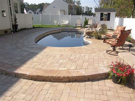 patio with concrete pavers patio pavers ideas a and beautiful flooring for
