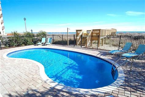 myrtle house rentals with pool oceanfront myrtle south carolina usa spacious