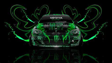 Monster Energy BMW M5 Front Plastic Car 2014   el Tony