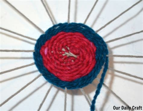 paper plate weaving craft paper plate weaving craft challenge day 33 our daily