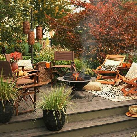 backyard decorating ideas home 30 fall decorating ideas and tips creating cozy outdoor